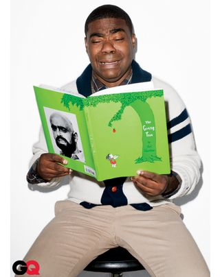 Tracy Morgan reading The Giving Tree crying til his balls shrivel up and