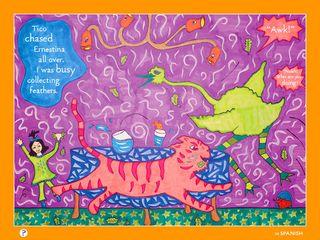 Nalah and the Pink Tiger page