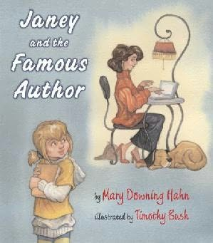 Janey and the famous author